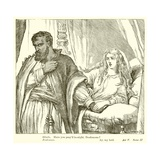 Othello Giclee Print by Henry Courtney Selous