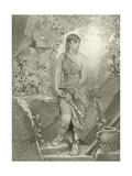 Cymbeline. Act III, Scene VI Giclee Print by Felix Octavius Carr Darley