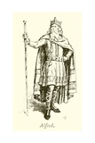 King Alfred the Great Giclee Print by Gordon Frederick Browne