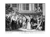 Nuptial Ceremony of German Jews, 1725 Giclee Print by Bernard Picart