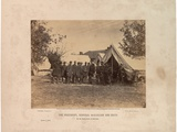 The President, General Mcclellan and Suite On... Antietam, 3rd October, 1862 Photographic Print by Alexander Gardner