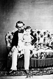Emperor Napoléon III with the Prince Imperial, C.1860 Photographic Print by  Mayer and Pierson