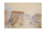 Venice: the Accademia, 1840 Giclee Print by Joseph Mallord William Turner