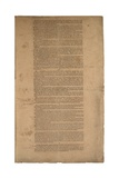 Constitution, First Printing, Printed by Dunlap and Claypoole, 17-19 September 1787 Giclee Print