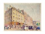 Urban Street Giclee Print by Felix Elie Tobeen
