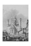 View of the East End of Mainz Cathderal, 1824 Giclee Print by Robert Batty