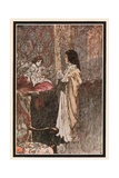 """Who are You"" He Said at Last. ""Are You a Ghost"" Giclee Print by Charles Robinson"