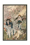 "He Would Lie on the Grass ""Watching Things Growing"" Giclee Print by Charles Robinson"
