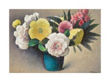 Still Life with Flowers Giclee Print by Felix Elie Tobeen