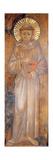 Portrait of St. Francis, C.1285 Giclée-tryk af Giovanni Cimabue