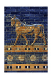 Mesopotamian Art. Neo-Babylonian. Ishtar Gate, One of the Eight Gates of the Inner Wall of… Giclee Print