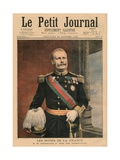 French Hosts, His Majesty Carlos I, King of Portugal, Front Cover Illustration from 'Le Petit… Giclee Print by Fortune Louis Meaulle