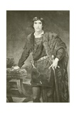Mr Henry Irving as Hamlet Giclee Print by Edwin Long