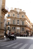 The Quattro Canti Crossroads in Palermo, Sicily Photographic Print