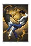 Les Deux Basques, C.1912 Giclee Print by Felix Elie Tobeen