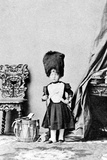 The Prince Imperial in the Uniform of a Drummer of the Grenadier Guards, C.1860 Photographic Print by Andre Adolphe Eugene Disderi