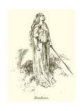Boadicea Giclee Print by Gordon Frederick Browne