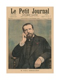 Paul Deroulede, Front Cover Illustration from 'Le Petit Journal', Supplement Illustre, 3rd… Giclee Print by Fortune Louis Meaulle