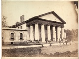 Front of Arlington House, 28 June 1864 Photographic Print by Andrew Joseph Russell