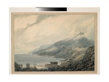 The Gulf of Salerno: Raito from Vietri, 1790 Giclee Print by John Robert Cozens