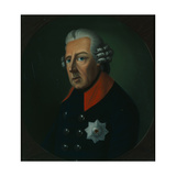 Bust of Frederick the Great, C.1880 Giclee Print by German School