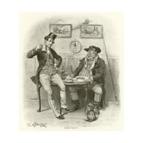 The Two Wellers Giclee Print by Frederick Barnard