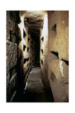 Italy. Rome. Catacombs of Callixtus. 2nd - 4th Centuries. Interior Giclee Print