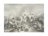 The Battle of Aspern, 1821-30 Giclee Print by Johann Peter Krafft