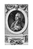 George Colman the Elder, Engraved by John Hall Giclee Print by Thomas Gainsborough