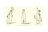 "Some of Lady Hamilton's ""Attitudes"" Giclee Print by Frederich Rehberg"