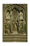 Italy. Milan Cathedral. Main Gate. The Marriage of the Virgin Mary Giclee Print