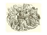 Aesop's Fables Giclee Print by Ernest Henry Griset