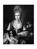 Polly Kennedy, Engraved by Valentine Green, 1771 Giclee Print by Edward Francis Cunningham