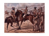 The Corps of Guides, C.1895 Giclee Print by Richard Simkin