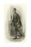 Ichabod Crane Giclee Print by Edwin Austin Abbey