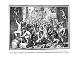 Plundering the Jewish Alley During the 'Fat Milk' Riots in Frankfurt on 22 August, 1614, 1628 Giclee Print by Matthaus, The Elder Merian