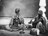 Snake Charmers, C.1863 Photographic Print by  Charles Shepherd and Arthur Robertson
