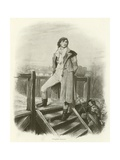 Sydney Carton Giclee Print by Frederick Barnard