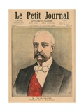 Felix Faure, President of the French Republic, Front Cover Illustration from 'Le Petit Journal',… Giclee Print by Henri Meyer