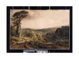 Near Lowther Castle, C.1826 Giclee Print by Peter De Wint