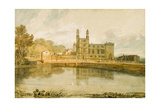 Stonyhurst Hall, 1799 Giclee Print by J. M. W. Turner