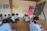 Schoolchildren in an English Class, Shey, Ladakh, India Photographic Print