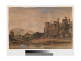 Conway Castle, C.1830 Giclee Print by Peter De Wint