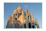 Sacre Coeur Church in Montmartre Paris France Giclee Print