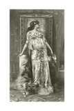 Sarah Bernhardt as Cleopatra Giclee Print by Georges Clairin