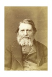 John Ruskin, 1882 Giclee Print by  Elliott and Fry Studio