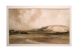 A Stormy Day Near the Coast, a Sketch, C.1837 Giclee Print by Peter De Wint