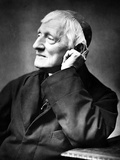 Cardinal Newman, 1887 Photographic Print by Herbert Rose Barraud