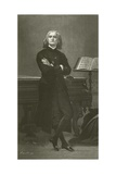 Franz Liszt Giclee Print by Fortune Joseph Seraphin Layraud