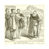 The Merchant of Venice Giclee Print by Henry Courtney Selous